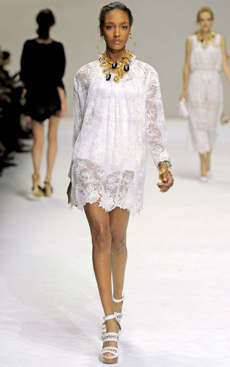 Dolce Gabbana Ss 2011 collection