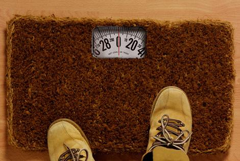 Doormat scale Emilio Alarcon