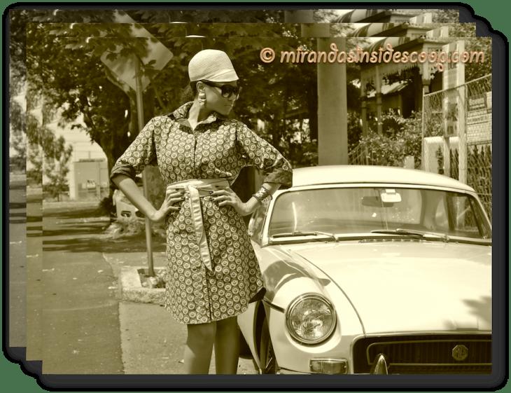 retro fashion style editorials