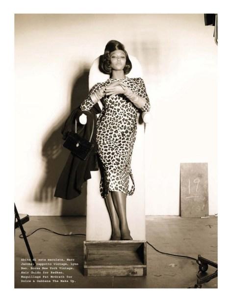 leopard print high fashion editorials
