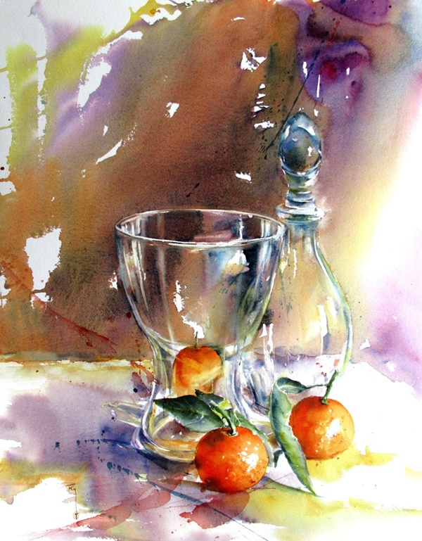 Simple And Easy Watercolor Paintings Ideas For Beginners
