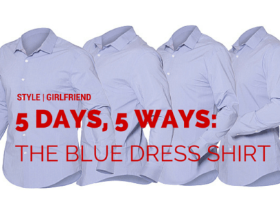 What to Wear With a Blue Dress Shirt