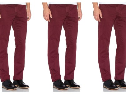 5 Days, 5 Ways: Colored Chinos