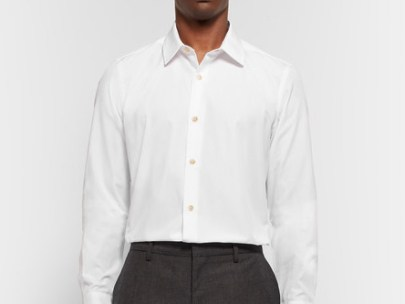 Men's Wardrobe Essential: The White Dress Shirt