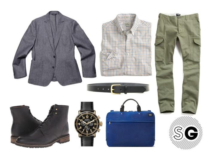 cargo pants, modern cargo pants, blazer, work, creative work place