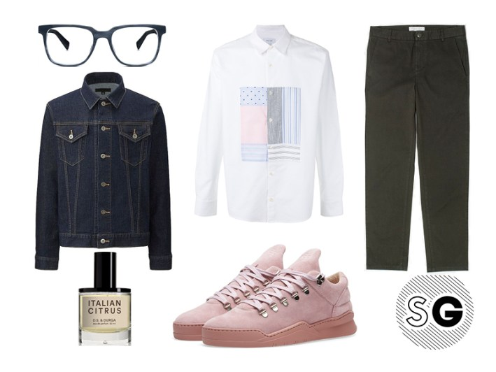 millenial pink, filling pieces, uniqlo, warby parker, soulland, everlane, d.s. durga