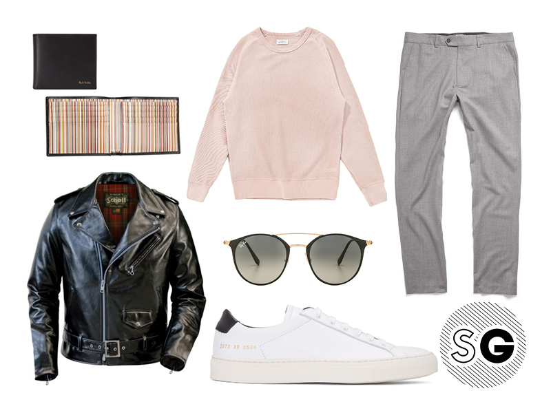 millenial pink, neutral, todd snyder, schott nyc, common projects, paul smith