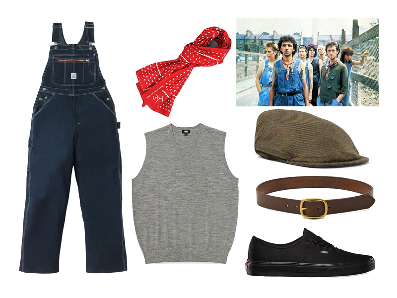 5 Days, 5 Ways Halloween Costumes with Overalls