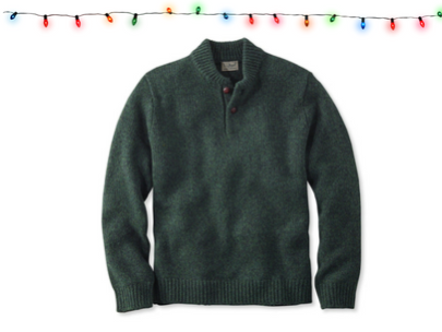 Cop The Coziest Men's Winter Sweaters: L.L. Bean