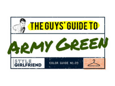 The Guy's Guide to Wearing Army Green