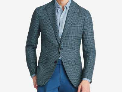 How to Wear an Unstructured Blazer