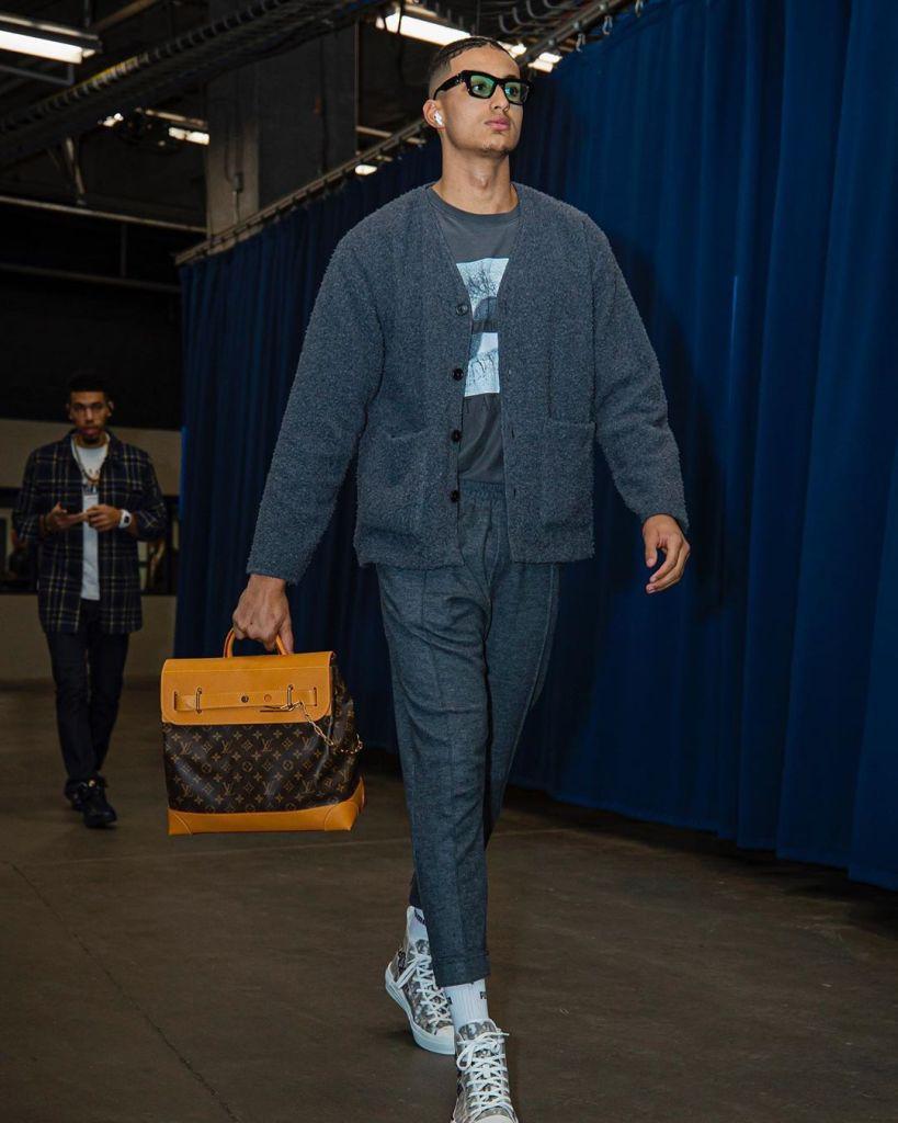 kyle kuzma cardigan 2020 men's fashion trends