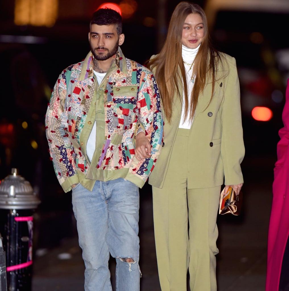zayn malik patchwork jacket 2020 men's fashion trends