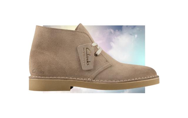 clarks sand suede men's desert boots