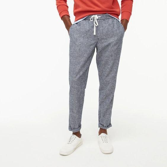 j.crew factory drawstring pants