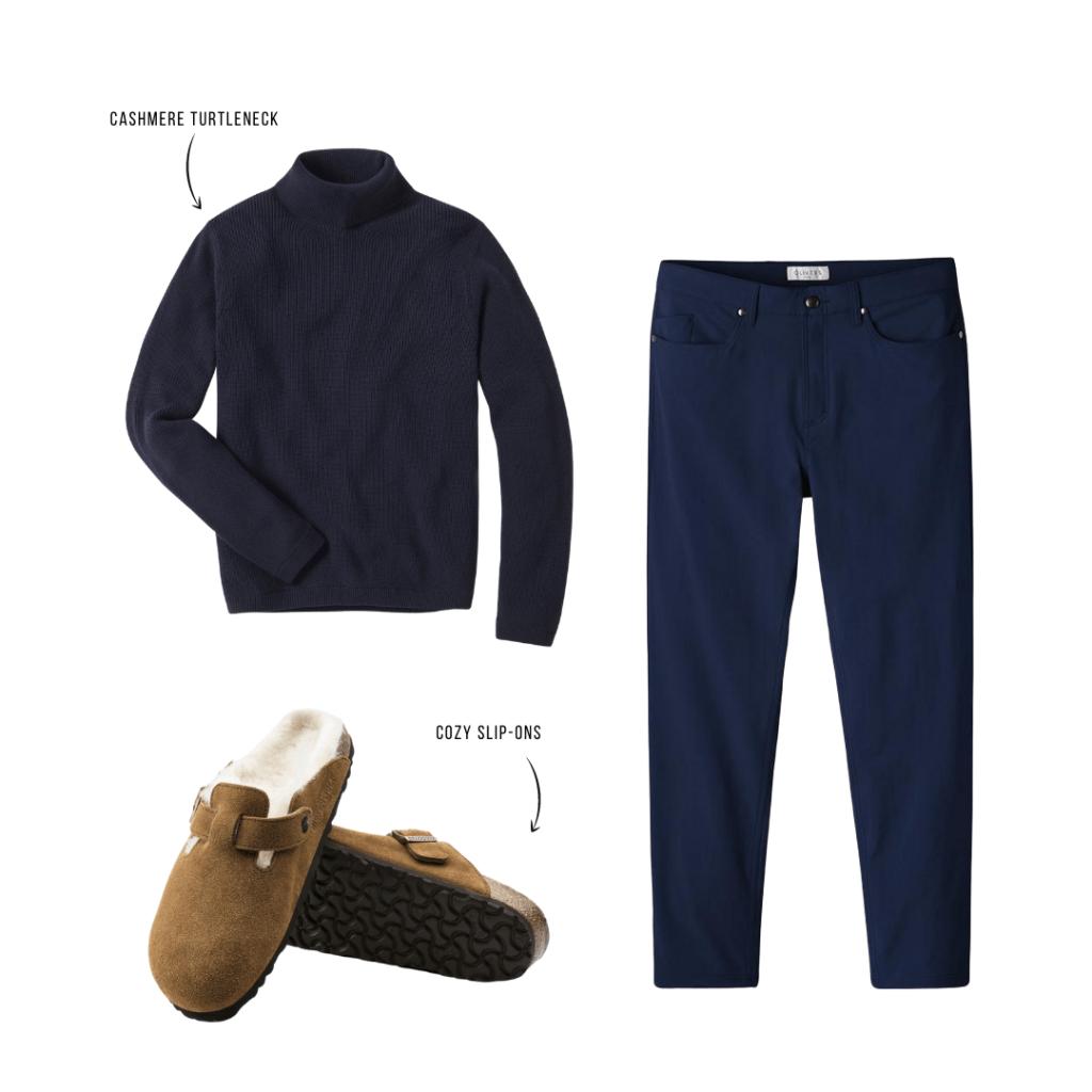 men's turtleneck outfit