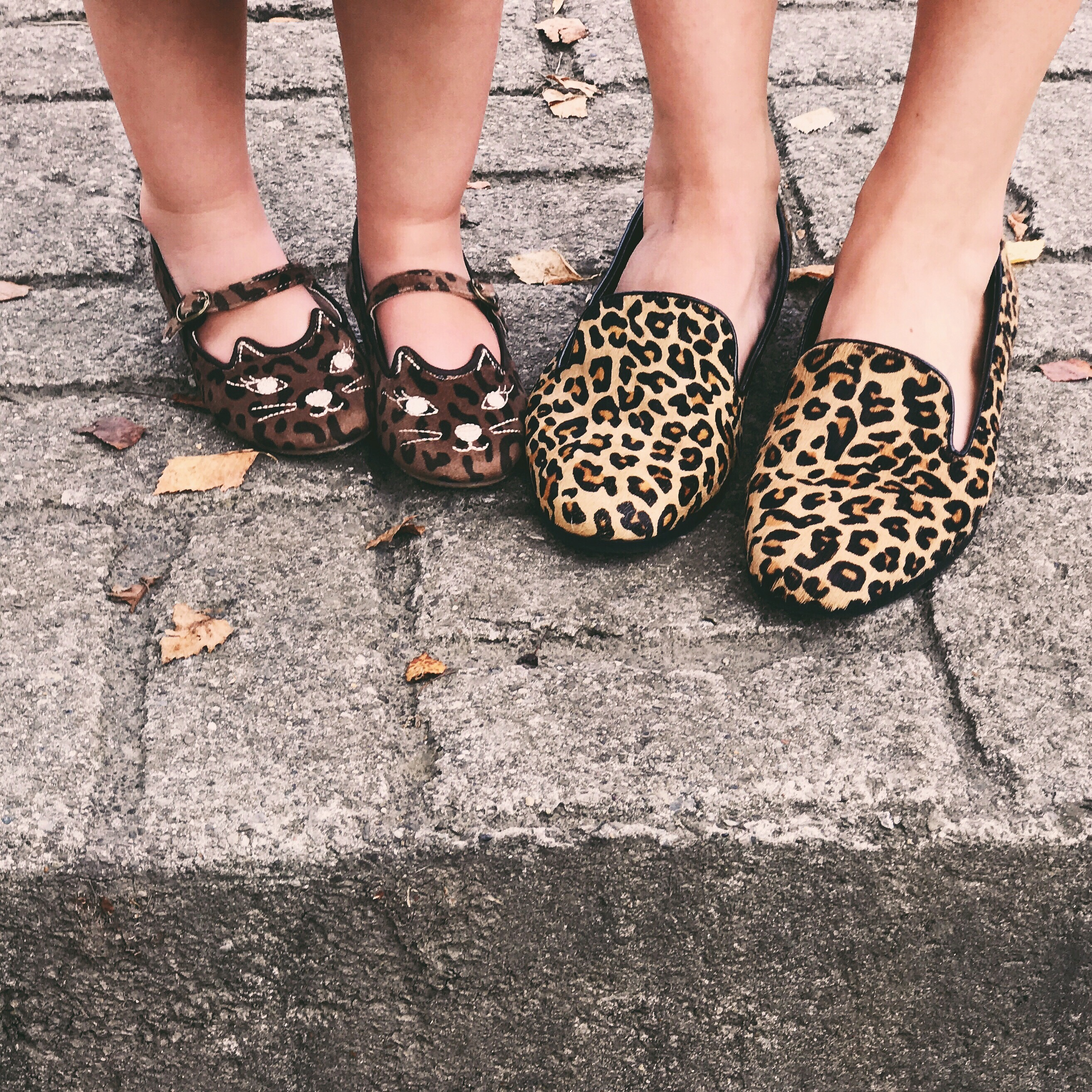 Mommy and Me Outfits: Military Green and Leopard Print matching outfits