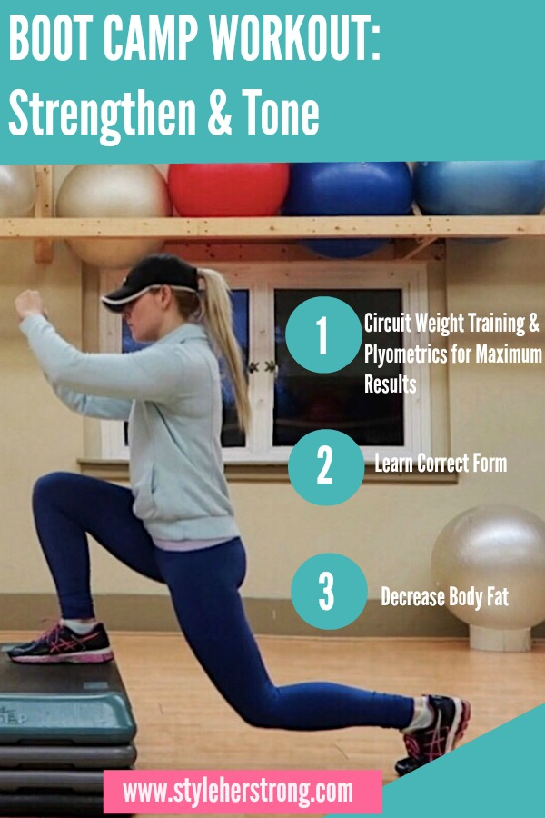 Boot Camp Workout | Strengthen & Tone