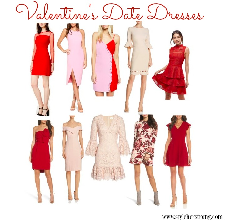 Valentine's Date Dresses | www.styleherstrong.com