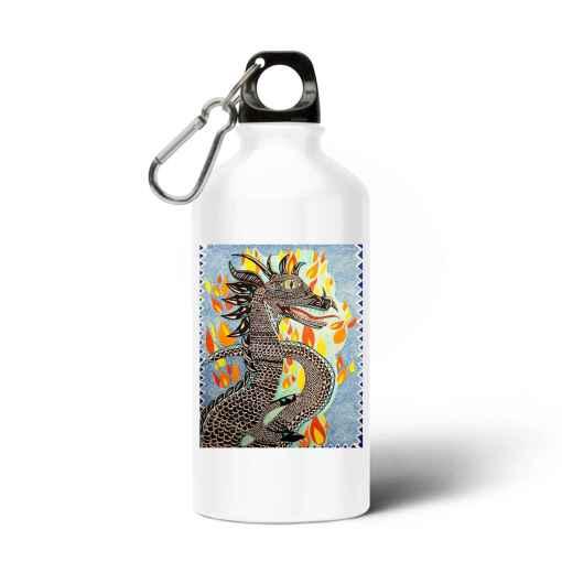 Dragon Van Iritas Aluminium Waterfles
