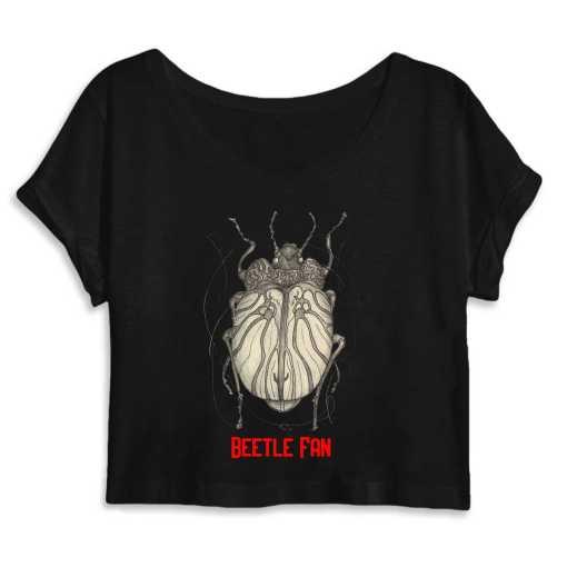 Beetle Fan Dames Organic Crop Top