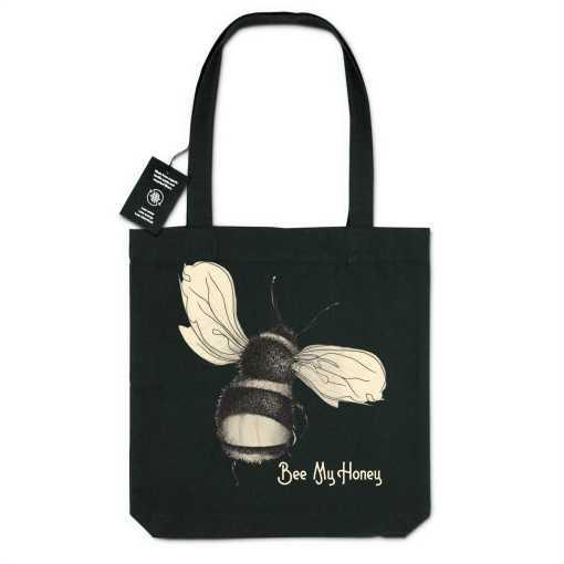 Bee My Honey Gerecycleerde Organische Draagtas