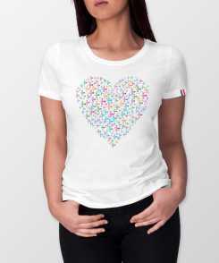 Cross My Heart Dames T-shirt - 100% biologisch katoen