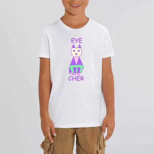 EyeCATcher Kinder Sweatshirt – 100 % Biologisch