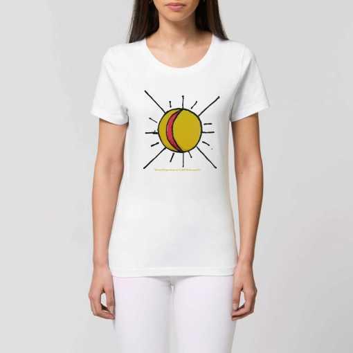 Del Sol Dames T-shirt - 100% Biologisch Katoen