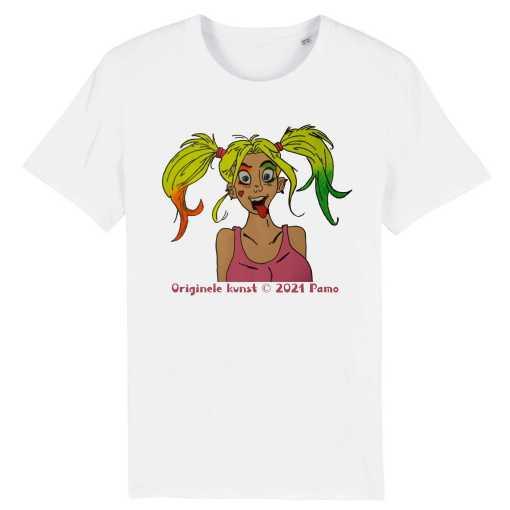 Yucky D Unisex T-Shirt - 100% Biologisch Katoen