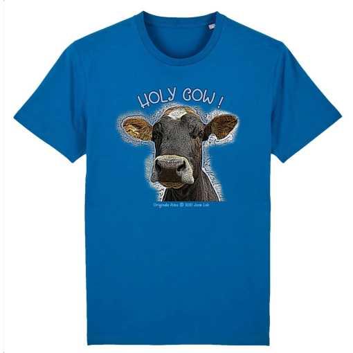Holy Cow Unisex T-Shirt - 100% Biologisch Katoen