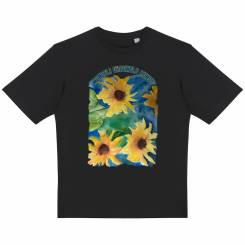 Faded Garden Oversized Urban T-shirt