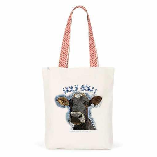 Holy Cow Etnische Totebag - Biologisch Katoen