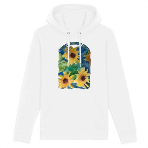 Faded Garden Unisex Organic Hoodie