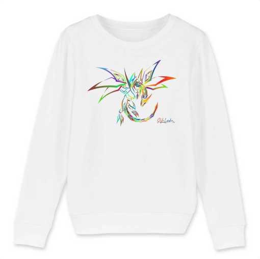 Style Dragon Kinder Sweatshirt - 100 % Biologisch