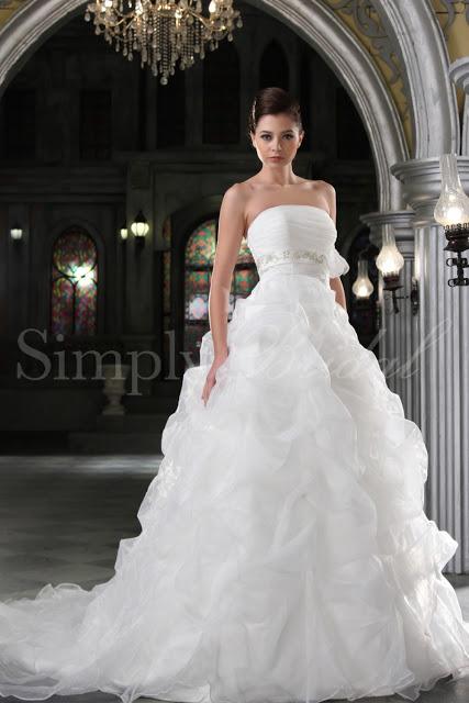 Simply Bridal Wedding Gown