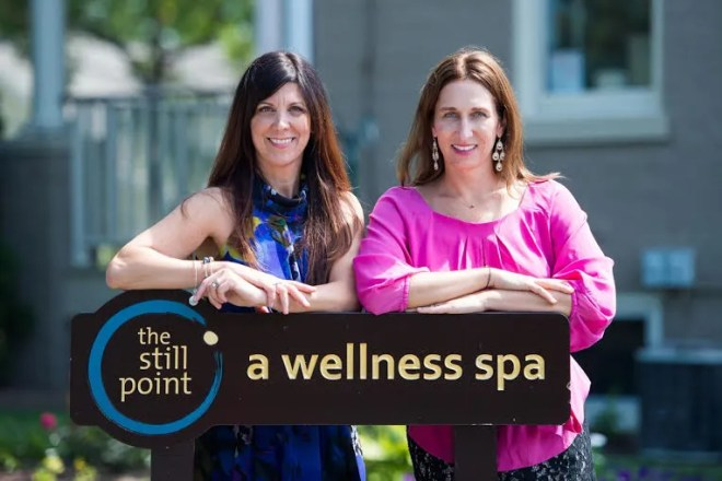 The Still Point's co-owners and TOMA Skin Therapies' founders, Marla Peoples and Tori Paide.