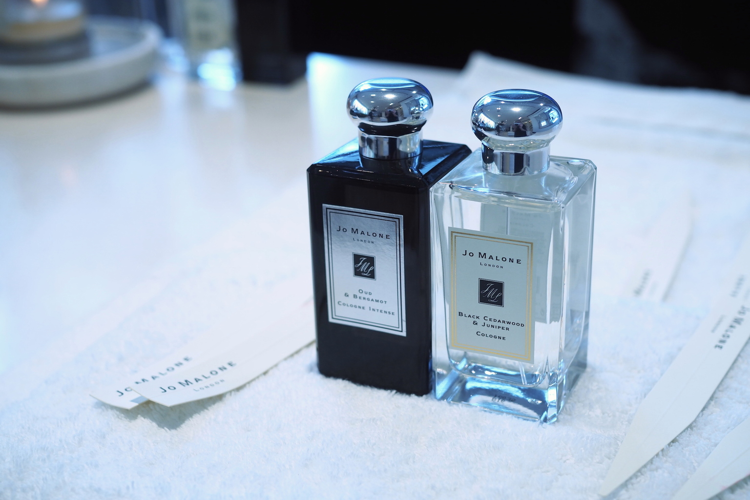 THE ART OF FRAGRANCE COMBINING