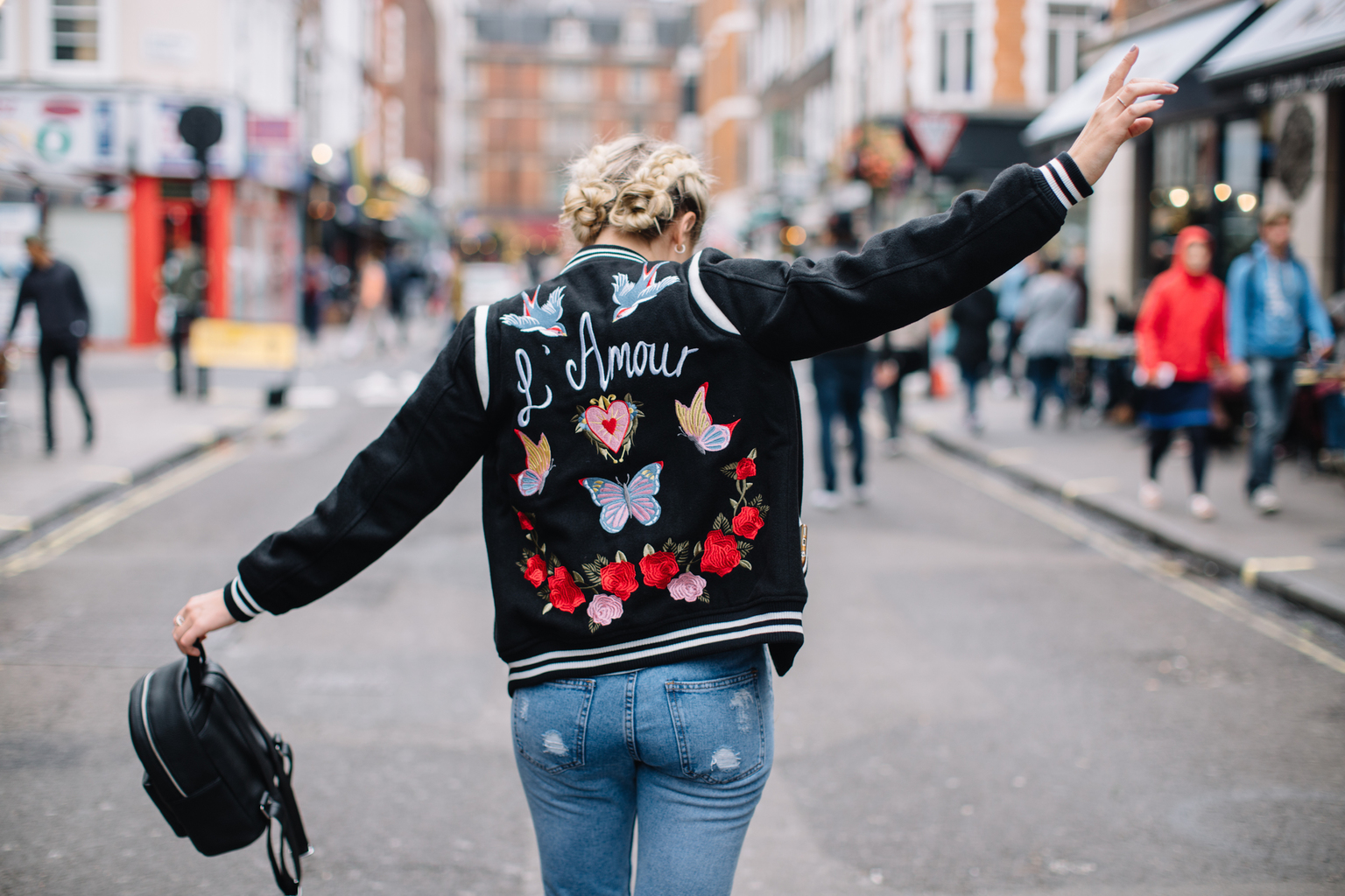 2 TRENDS NAILED: THE EMBROIDERED BOMBER