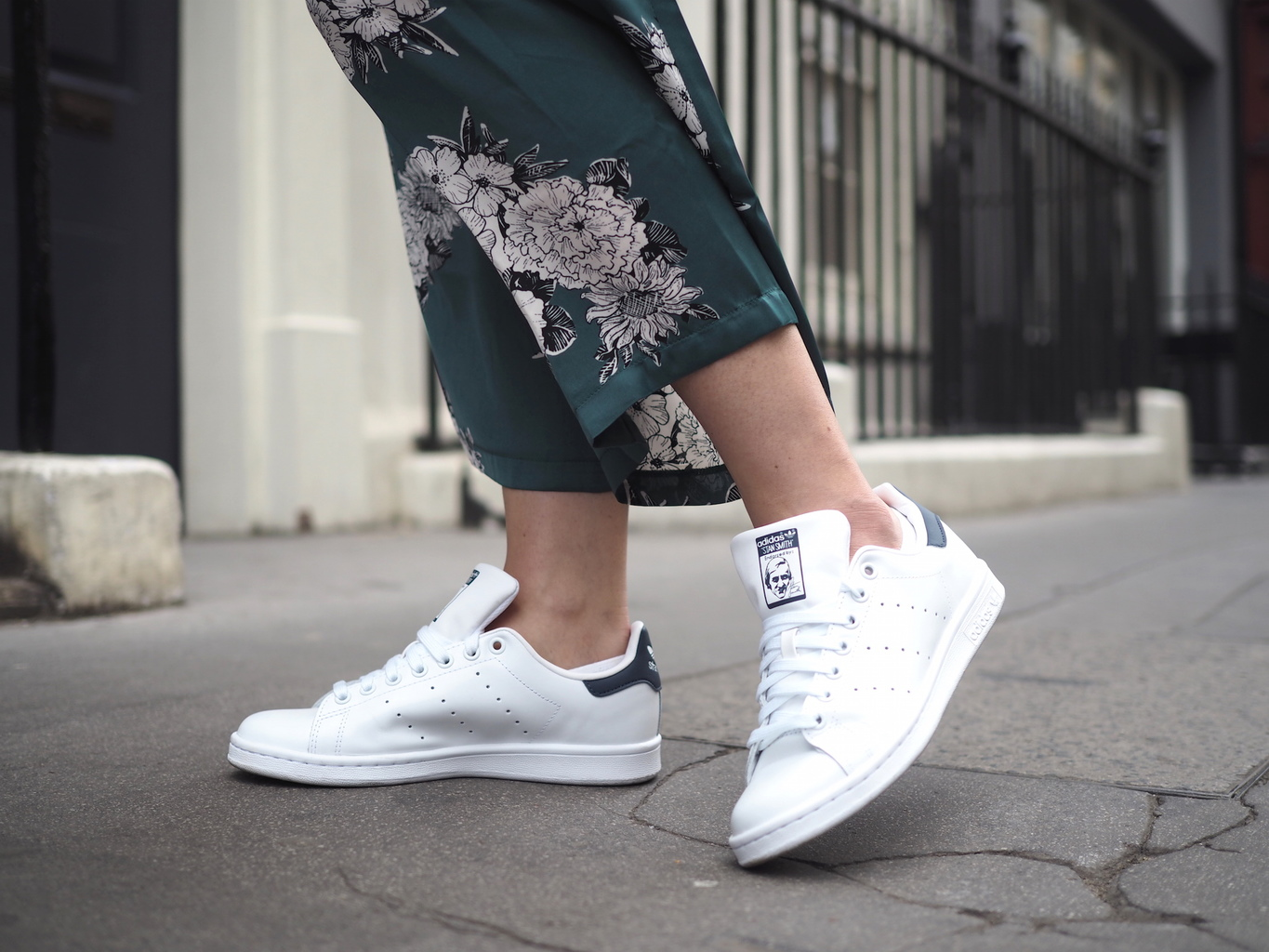 stan smiths navy tab style lobster
