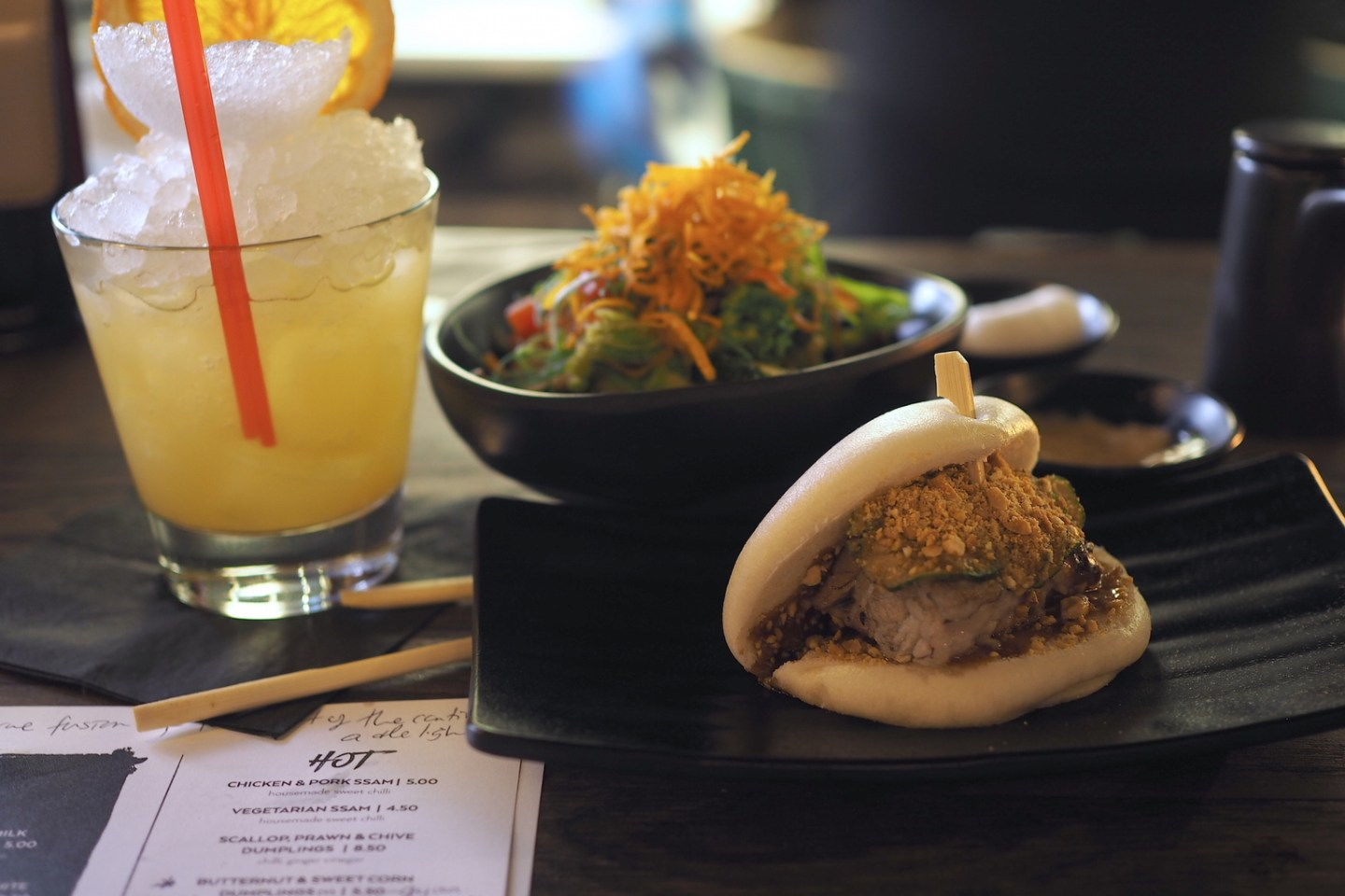STYLE LOBSTER DINES AT YUU KITCHEN