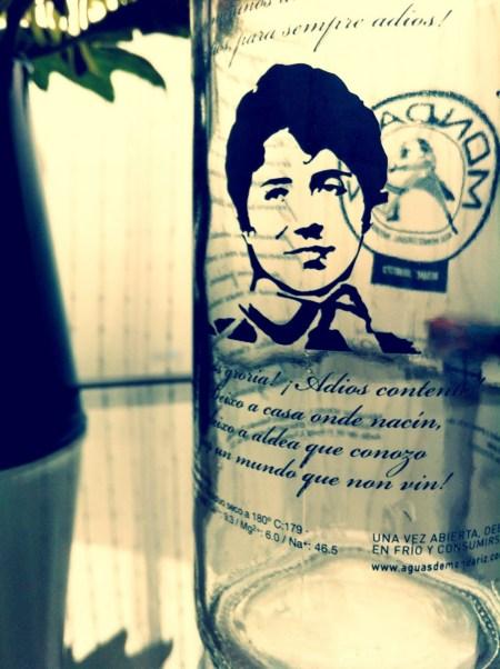 botella rossalía castro