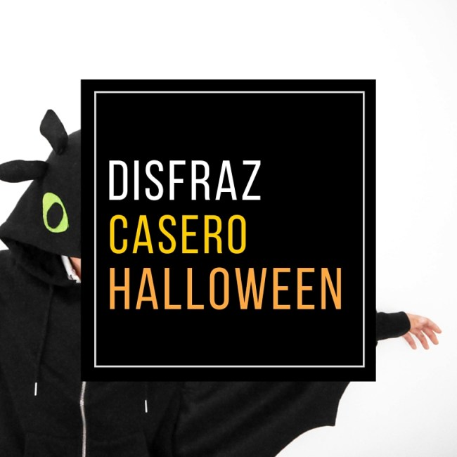 disfraz casero halloween