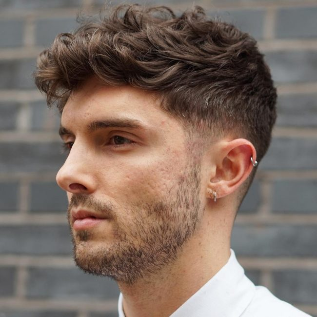 30 Refined Wavy And Curly Hairstyles For Men The Best