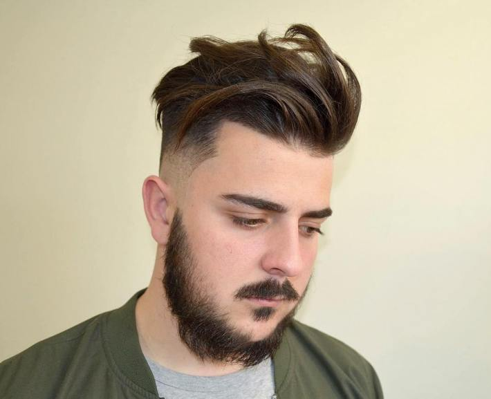 65 glamorous men's haircuts for round faces- trendy and unique look