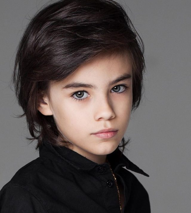 50 stunning boys' long hairstyles - redefining your kids
