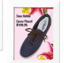 Canvas Plimsoll From Edgars for R199.95