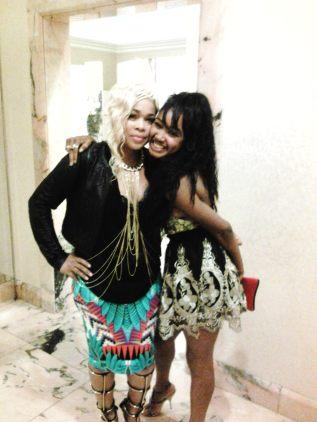 Akika and SInger T-Boz