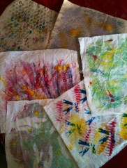 Textile monoprints