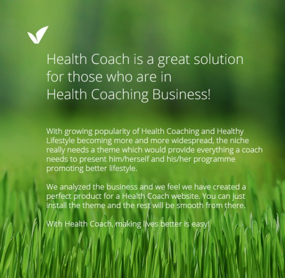 Health Coach - Life Coach WordPress theme for Personal ...